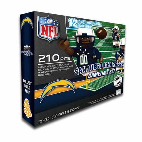 San Diego Chargers OYO Game Time Set