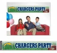 Los Angeles Chargers Party Banner