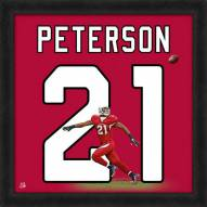 San Diego Chargers Patrick Peterson Uniframe Framed Jersey Photo