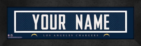San Diego Chargers Personalized Stitched Jersey Print