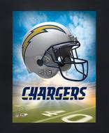 Los Angeles Chargers Framed 3D Wall Art