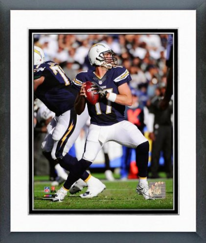 San Diego Chargers Philip Rivers Action Framed Photo