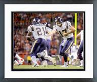 San Diego Chargers Philip Rivers & LaDainian Tomlinson 2006 Action Framed Photo