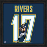 San Diego Chargers Philip Rivers Uniframe Framed Jersey Photo
