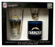 Los Angeles Chargers Pint, Shot, Coffee Mug Set