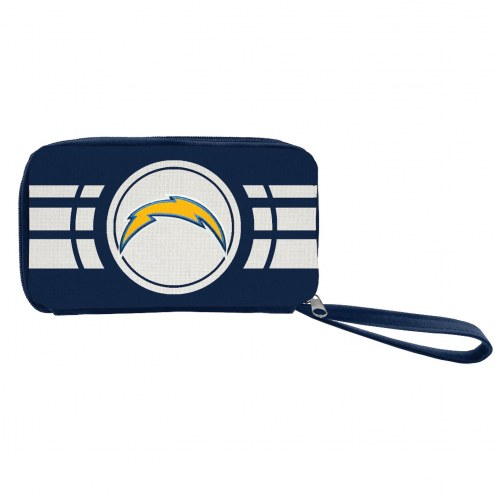 Los Angeles Chargers Ripple Zip Wallet