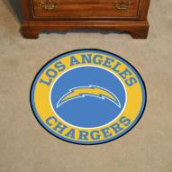 Los Angeles Chargers Rounded Mat