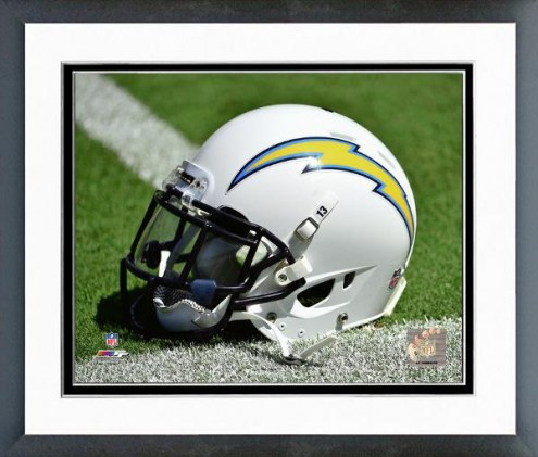 San Diego Chargers San Diego Chargers Helmet Framed Photo