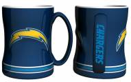 Los Angeles Chargers Sculpted Relief Coffee Mug