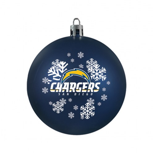 San Diego Chargers Shatterproof Ball Ornament