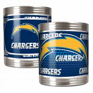 San Diego Chargers Stainless Steel Hi-Def Coozie Set
