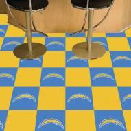 Los Angeles Chargers Team Carpet Tiles