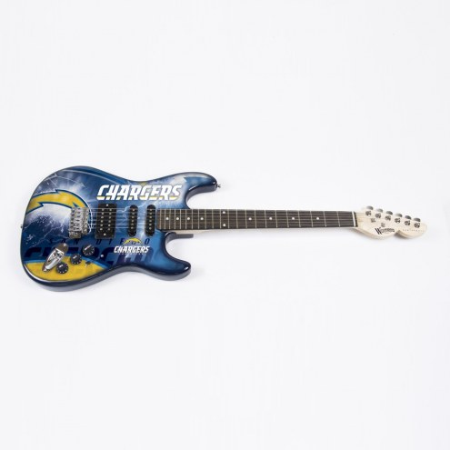 Los Angeles Chargers Woodrow Northender Electric Guitar