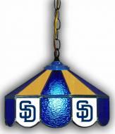 "San Diego Padres 14"" Glass Pub Lamp"