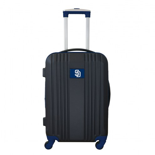 """San Diego Padres 21"""" Hardcase Luggage Carry-on Spinner"""