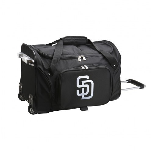 "San Diego Padres 22"" Rolling Duffle Bag"