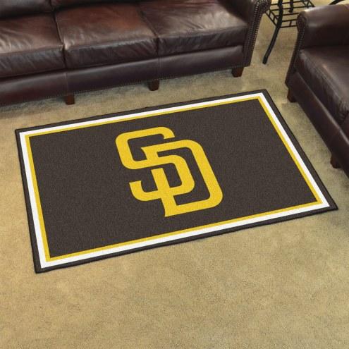 San Diego Padres 4' x 6' Area Rug