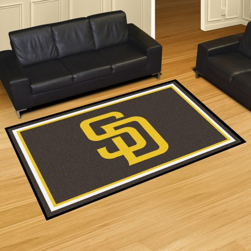 San Diego Padres 5' x 8' Area Rug