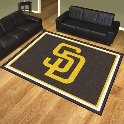 San Diego Padres 8' x 10' Area Rug