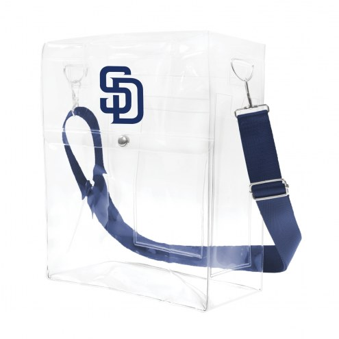San Diego Padres Clear Ticket Satchel