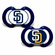 San Diego Padres Baby Pacifier 2-Pack