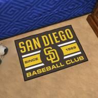 San Diego Padres Baseball Club Starter Rug