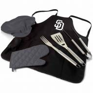 San Diego Padres BBQ Apron Tote Set