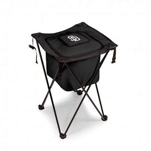 San Diego Padres Black Sidekick Portable Cooler