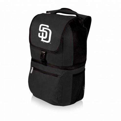San Diego Padres Black Zuma Cooler Backpack