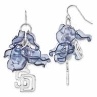 San Diego Padres Celebration Dangle Earrings