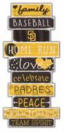 San Diego Padres Celebrations Stack Sign