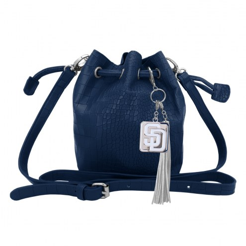 San Diego Padres Charming Mini Bucket Bag