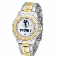 San Diego Padres Competitor Two-Tone Men's Watch