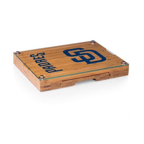 San Diego Padres Concerto Bamboo Cutting Board