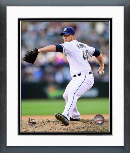 San Diego Padres Craig Kimbrel Action Framed Photo