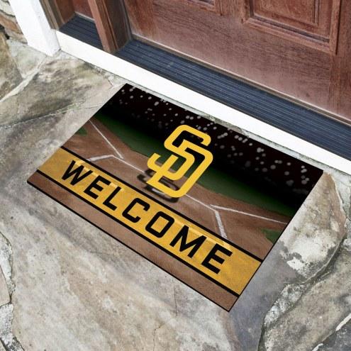 San Diego Padres Crumb Rubber Door Mat