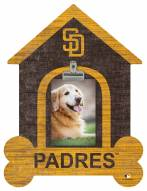 San Diego Padres Dog Bone House Clip Frame
