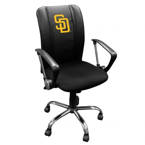 San Diego Padres XZipit Curve Desk Chair