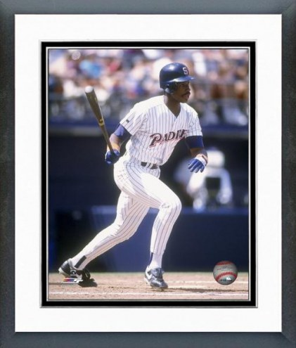 San Diego Padres Fred McGriff 1992 Action Framed Photo