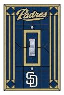 San Diego Padres Glass Single Light Switch Plate Cover