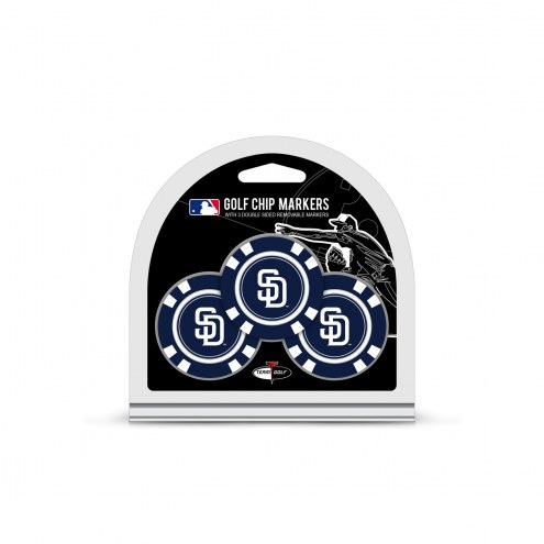 San Diego Padres Golf Chip Ball Markers