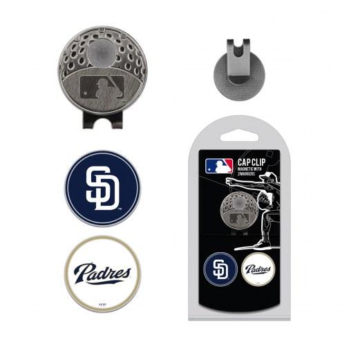 San Diego Padres Hat Clip & Marker Set