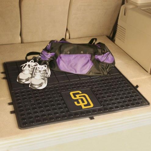 San Diego Padres Heavy Duty Vinyl Cargo Mat