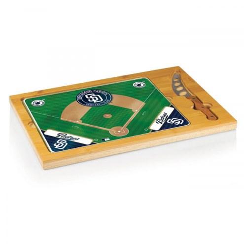 San Diego Padres Icon Cutting Board