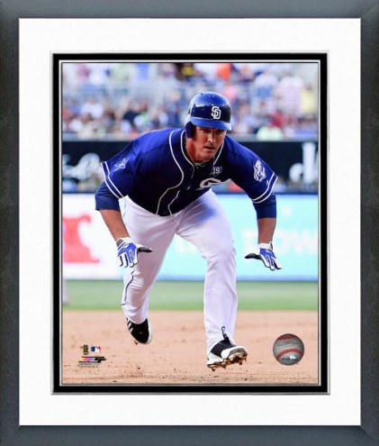 San Diego Padres Jake Goebbert Action Framed Photo