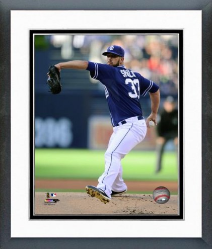 San Diego Padres James Shields Action Framed Photo