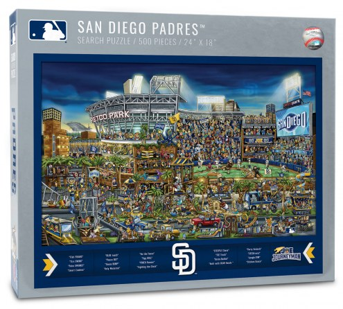 San Diego Padres Joe Journeyman Puzzle