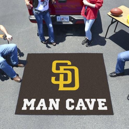 San Diego Padres Man Cave Tailgate Mat