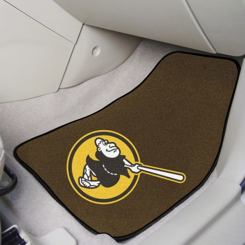 San Diego Padres MLB 2-Piece Carpet Car Mats