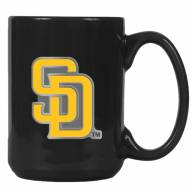 San Diego Padres MLB 2-Piece Ceramic Coffee Mug Set